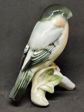 "Karl Ens Porcelain Bullfinch Bird 5"" Figure"