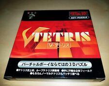 Nintendo Virtual Boy Game V-Tetris Japan BRAND NEW MIB