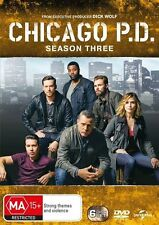 Chicago P.D PD Season Three 3 BRAND NEW SEALED R4 DVD