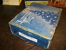 OLD PUTZ CHRISTMAS VILLAGE HOUSES- USED- ORIG BOX- AND MORE- VARIETY- LOW PRICE