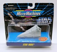 1995 Star Wars Imperial Star Destroyer  Micro Machine Galoob new on card
