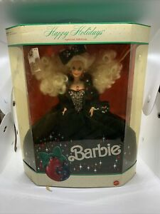 Happy Holidays Special Edition 1991 Barbie Doll Christmas