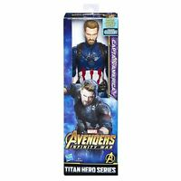 AVENGERS Infinity War Captain America with Titan Hero Power FX Port Figure