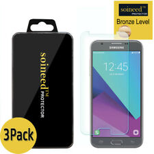 3-Pack SOINEED Samsung Galaxy J3 2017 Shockproof Tempered Glass Screen Protector