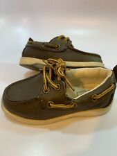GAP Baby Brown Boat Casual Shoes Toddler Boys Size 7