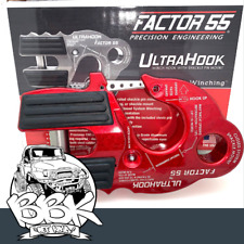 Factor 55 UltraHook 4x4 recovery fits Sherpa, Warn, TJM, X Bull Winch Ultra Hook