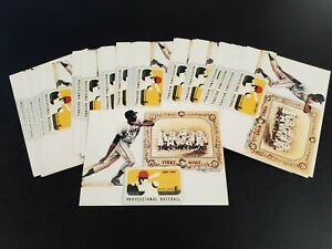 """WILLIE McCOVEY, Giants ~ 49 Giant-size (5-1/8"""" X 7-1/8"""") postcard USPS design"""