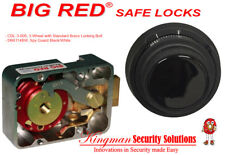 Big Red Safe Locks Spy-Guard Black & White D&R - 3 Wheel Group 2 Mech Lock Kit