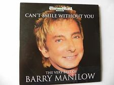 THE VERY BEST OF BARRY MANILOW PROMO CD CAN`T SMILE WITHOUT YOU
