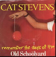 CAT STEVENS REMEMBER THE DAYS OF THE OLD SCHOOLYARD/LAND O'F 45RPM  W/PIC SLEEVE
