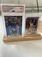 Lot of 4 Wooden Card Display Holders for PSA graded/lg graded/loaders NBA NFL