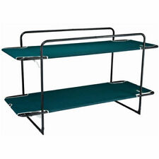NEW Oztrail Double Bunk Bed Green Portable Stretcher Frame
