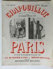 182 - Crapouillot - Paris - Ses Quartiers : Latin et Montparnasse