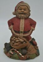 Vintage Tom Clark Merry Christmas Santa Clause Gnome Figurine Signed 1998 #5381