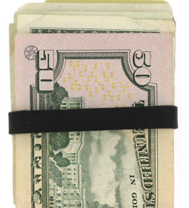 Elastic Rubber Band to Secure Your Money, Credit Cards 10mm wide