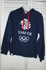 TEAM GB LONDON OLYMPICS 2012 BLUE HOODIE SIZE SMALL