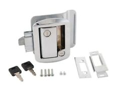 Ap Products Global Travel Trailer Lock with Keys Chrome #013-572