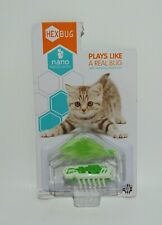 New listing HexBug Nano Robotic Cat Toy Green Plays Like A Real Bug With Vibrating Movement