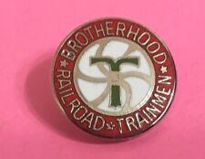 Railroad Hat-Lapel Pin/Tac- Brotherhood of Trainmen union #1458-NEW