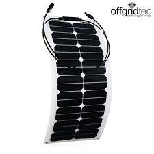 Offgridtec© 30W  flexibles High-End Solarmodul 12V 30 Wp Solarzelle
