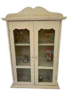 Small Vintage Cabinet, Old Cupboard, Display Shelves Cabinet, Vintage Bar Cabine