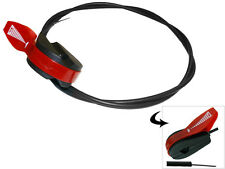 """LAWNMOWER 65"""" UNIVERSAL THROTTLE CABLE FITS MANY LAWNMOWERS"""