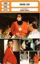 FICHE CINEMA : SINON OUI - Mendez,Clarke,Castel,Simon 1997 A Foreign Body