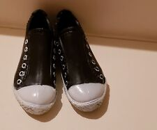 NEW PAIR OF BLACK & WHITE TENNIS SHOE SNEAKERS FOR KEN DOLL