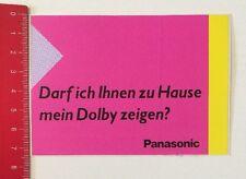 Aufkleber/Sticker:Panasonic-Darf Ich Ihnen Zu Hause Mein Dolby Zeigen(250416105)