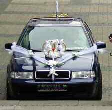 Hochzeitsauto,Autoschmuck, Autogirlande Autodeko, Hochzeit, Brautauto 6 Tlg