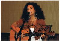 Sherrié Austin - original signiertes Foto - signed Autogramm in Person
