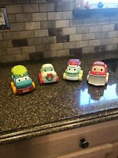 New listing Infantino Christmas Toy Cars Set Of 4 Cars