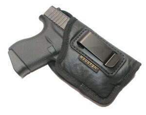 Houston IWB Soft Holster for Glock 43/43X/42 with Laser &/OR Light