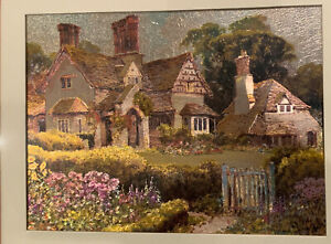 Manifestations Home Of Optical Illusionary Art English Cottages Foil Iridescent