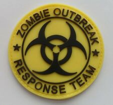 Hot  Resident Evil - BIOHAZARD LOGO PVC 3D Rubber  Patch 2 Shapes SJK  238