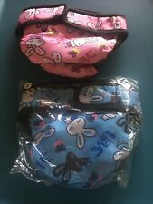 2 New Dog Diapers Reusable Adjustable Washable Female Pet Size M Girl Bunny
