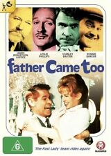 Father Came Too -RONNIE BARKER LESLIE PHILLIPS GENUINE REG 4 DVD NEW/SEALED RARE