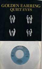 GOLDEN EARRING  Quiet Eyes / Love In Motion  rare 45 with PicSleeve