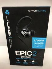 JLab Audio Epic2 Bluetooth 4.0 Wireless Sport Earbuds