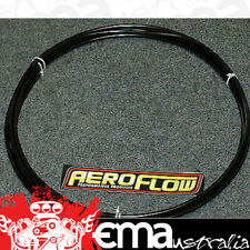 "Aeroflow AF66-3001BLK 1/2"" Alloy Fuel Line (12.7mm ) Black Anodised Methanol / E"