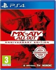 MX vs ATV All Out - Anniversary Edition PS4 Neuf sous blister