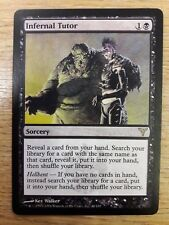 Magic The Gathering Cards - Dissension - Infernal Tutor