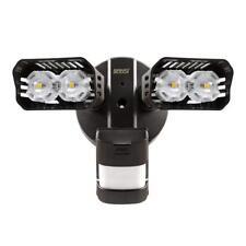 SANSI LED Security Motion Sensor Outdoor Light, 18W (150W Equiv.) Bronze