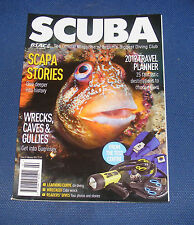 BSAC - SCUBA MAGAZINE - FEBRUARY 2012 - SCAPA STORIES/WRECKS, CAVES & GULLIES