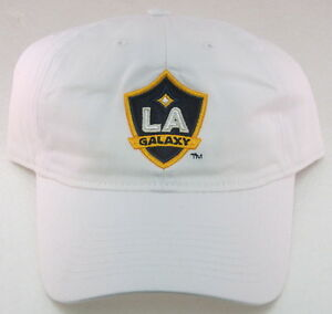 MLS Los Angeles Galaxy White Relaxed Fit Hat