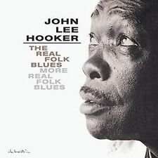 HOOKER, JOHN LEE - THE REAL FOLK BLUES/MORE REAL FOLK BLUES (CD-2002 MCA) 2 ON 1