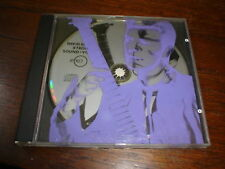 DAVID BOWIE RARE PROMO PICTURE DIsc  RYKO CD silkscreen