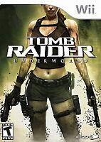Tomb Raider: Underworld (Nintendo Wii, 2008) *Brand New*