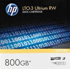 10 pack HP C7973A Ultrium3 Media 400/800GB (NEW)