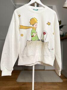 ZARA Disney Ecru Le Petit Prince The Little Prince Sweatshirt Size S Bloggers